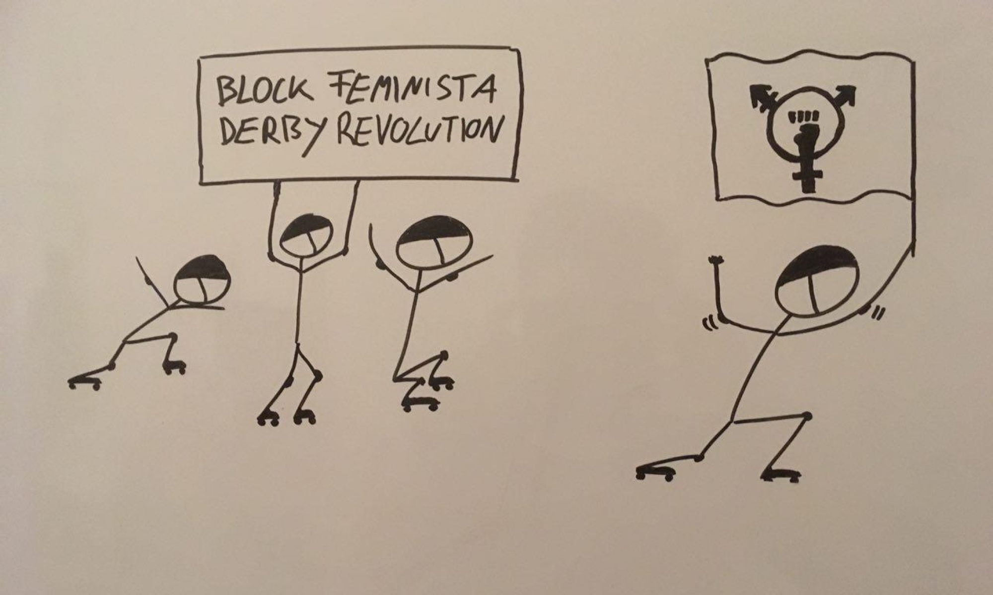 Block Feminista Derby Revolution
